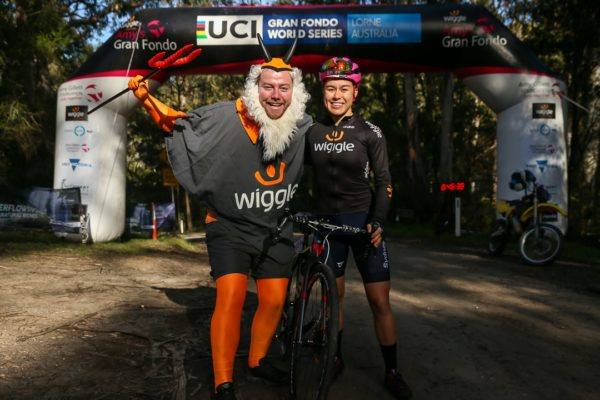AUSTRALIA, LORNE - 2019 Amy's Gravel Fondo on September 14, 2019 in Lorne, Victoria, Australia. Credit Con Chronis